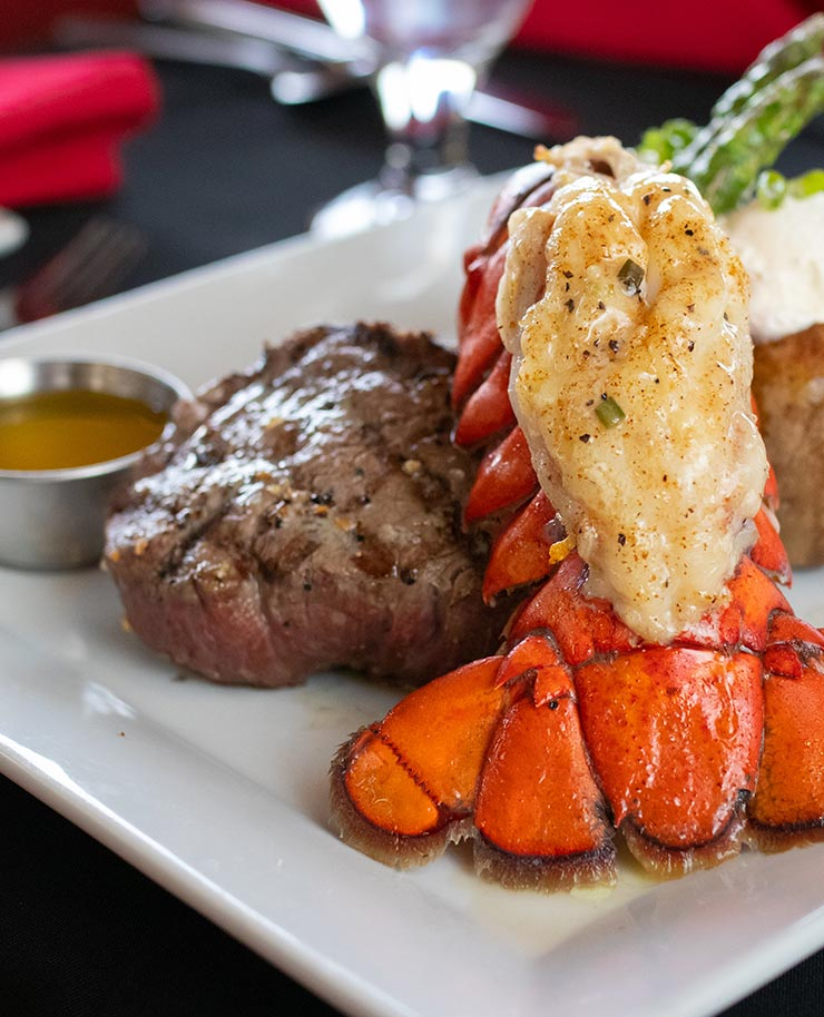 Steak & Lobster Tail